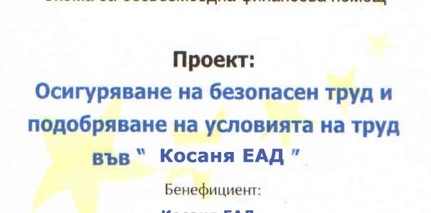 Kosanya Proekt 2014